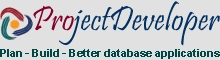 Database application project developer